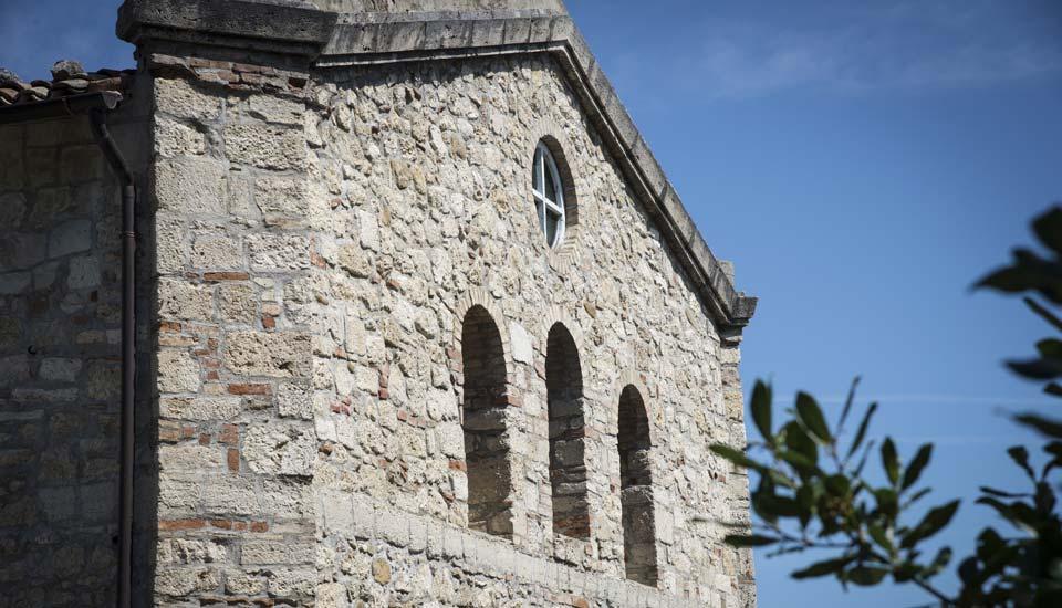 Chiesa di San Michele Arcangelo a Lisciano - Esterno