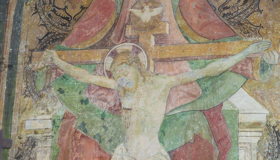 Chiesa di San Michele Arcangelo a Lisciano - Affresco