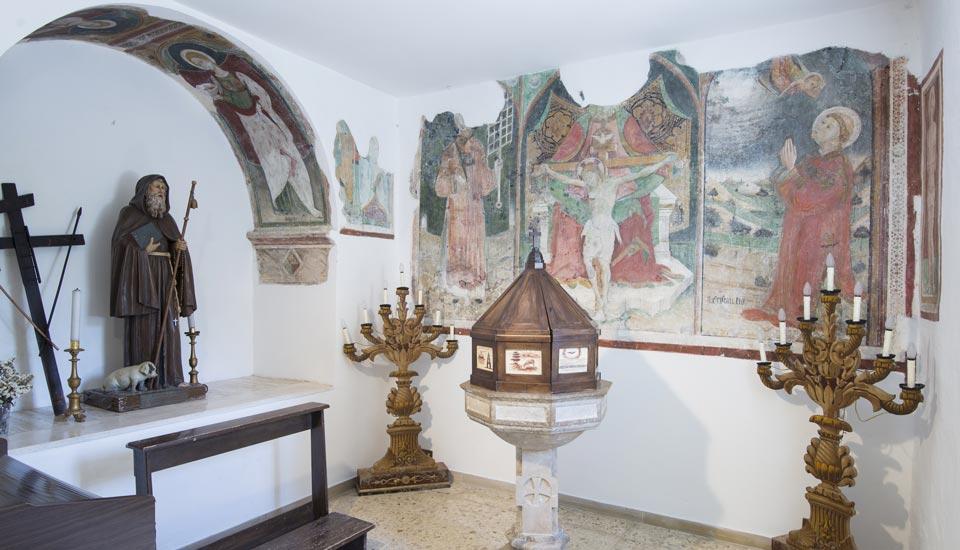 Chiesa di San Michele Arcangelo a Lisciano - Interno