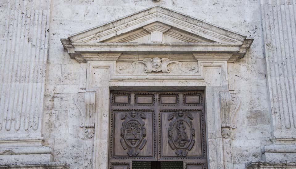 Chiesa di Santa Maria della Carità - Portone